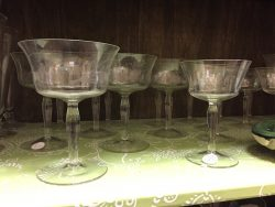 SAGE Resale Shop glassware